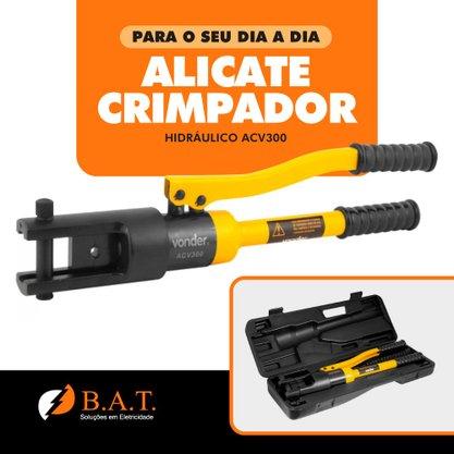 ALICATE CRIMPADOR HIDRÁULICO ACV300