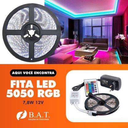 FITA LED 5050 RGB 7,8W 12V