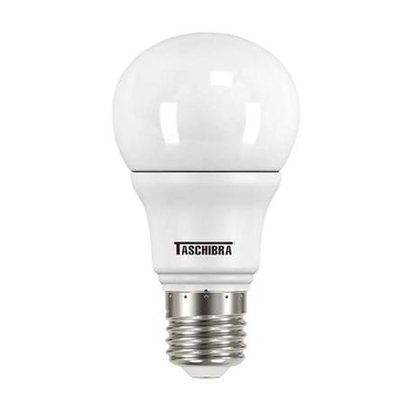 LAMPADA BULBO LED 4,9W 3000K E27 TASCHIBRA