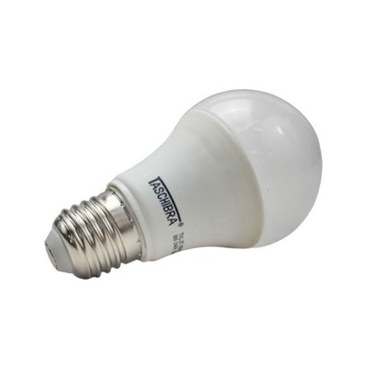 LAMPADA BULBO LED 4,9W 6500K E27 TASCHIBRA