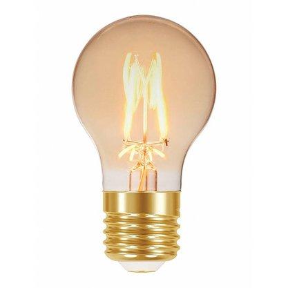LAMPADA LED FILAMENTO VINTAGE A60 4W AUTOVOLT AMBAR