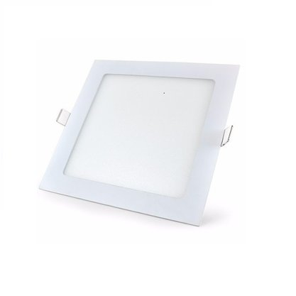 PLAFON LED 18W LUX QUADRADO EMBUTIR 3000K