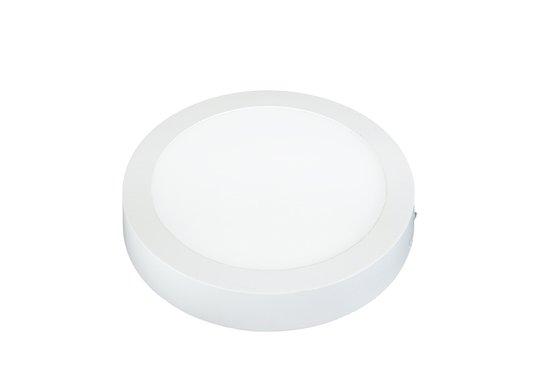 PLAFON LED 18W LUX REDONDO SOBREPOR 3000K
