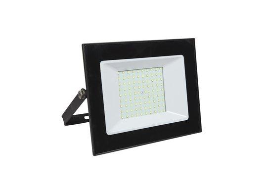 REFLETOR LED 100W 6500K PRETO