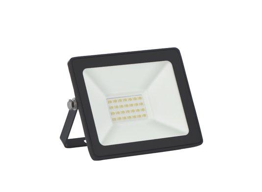REFLETOR LED 20W SLIM 6500K PRETO