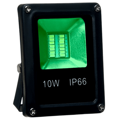 REFLETOR LED SLIM 10W VERDE