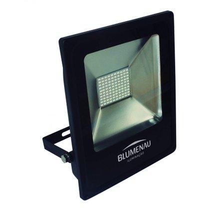 REFLETOR LED SLIM 50W LUZ VERDE