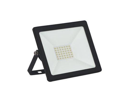 REFLETOR TR LED 30W SLIM VERDE PRETO