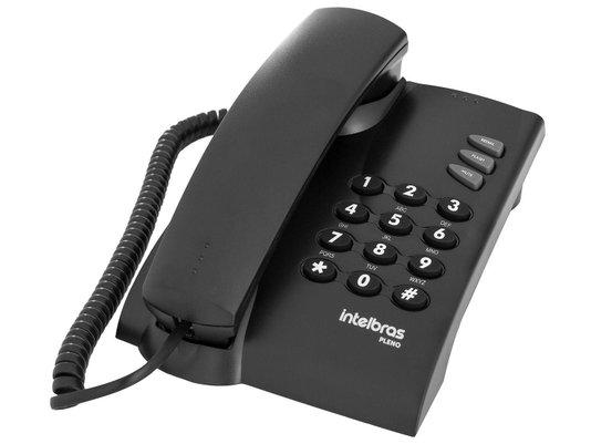 TELEFONE PLENO (PRETO) -  INTELBRAS